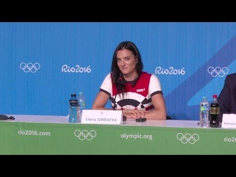 La pertiguista rusa Yelena Isinbayeva anuncia su retiro