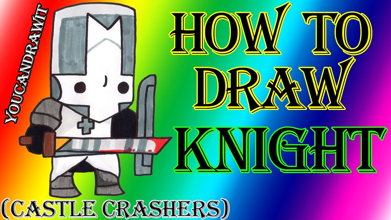 Castle crashers characters drawings the for How to doodle characters