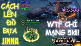 Đã tìm ra pháp sư có sát thương chí mạng cao nhất Liên Quân Mobile: Jinna với cách lên đồ này :)