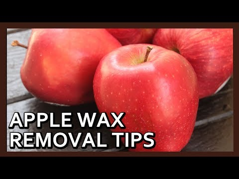 How to Clean Apple Wax | Kitchen Tips by Healthy Kadai