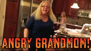 GRANDMOM PISSED OFF OVER PRANK !