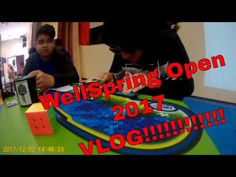 WellSpring Open 2017 Vlog | Rubik's Cube Competition UAE | Speedcubing UAE