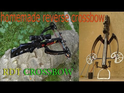 How Building a powerful hunting crossbow in home…