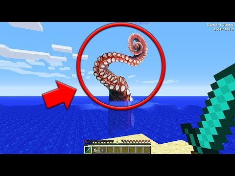 We were ATTACKED by a GIANT TENTACLE MONSTER in Minecraft... (Minecraft SCP Seed)