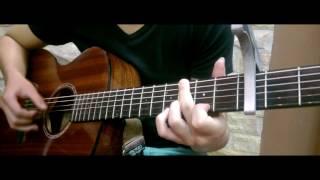 Anh Đã Quen Với Cô Đơn - VA Guitar Solo (with TAB)