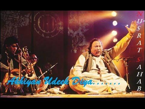 Rahat Fateh Ali Khan:Akhiyan Udeek Diyaan Lyrics ...