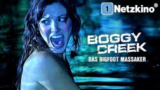 Boggy Creek - Das Bigfoot Massaker (Horrorfilm in voller Länge, ganzer Film auf Deutsch) *HD*