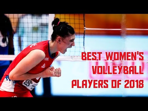 Best Women's Volleyball Players Of 2018 By Danilo Rosa