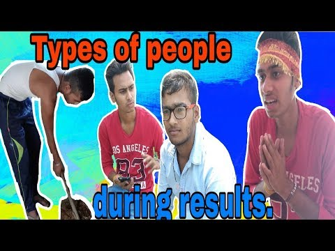 Types of people during results || Result ka mahool || Desi villager Vines || Amit bhadana