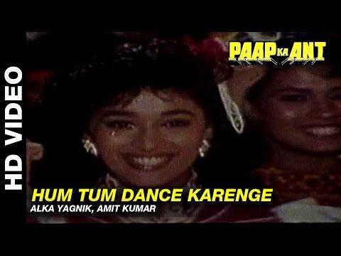 Hum Tum Dance Karenge - Paap Ka Ant | Kavita Krishnamurthy, Mohammed Aziz | Govinda & Madhuri Dixit