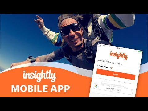The Insightly Mobile App