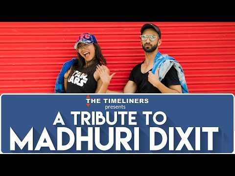 A Tribute To Madhuri Dixit | The Timeliners