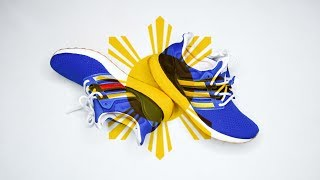 Adidas ULTRABOOST X Engineered Garments is inspired by the Philippine flag?