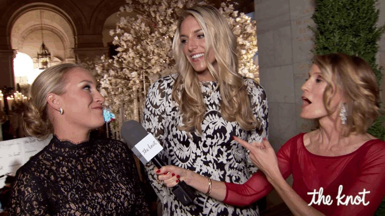 Elena Delle Donne and Amanda Clifton Talk Wedding Plans at The ...