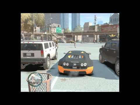 [HD] GTA 4 Bugatti Veyron Super Sport