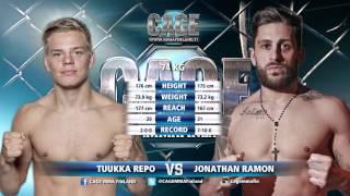 CAGE 37: Tuukka Repo vs Jonathan Ramon- Full Fight