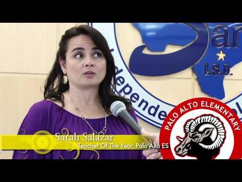 Palo Alto ES 2014 - 2015 Teacher Of The Year