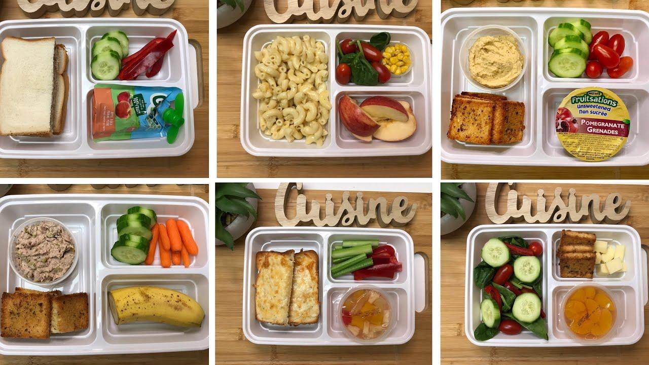 Download 9 idées de Boîte à lunch en 5min‼️😃 Des astuces pour faciliter votre routine du matin 😉!