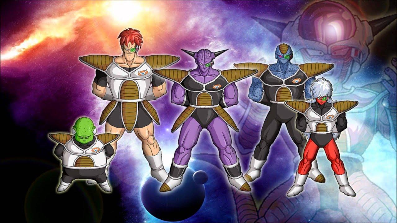 Dragon Ball Z Krillin Vegeta Son Goku Piccolo Zarbon