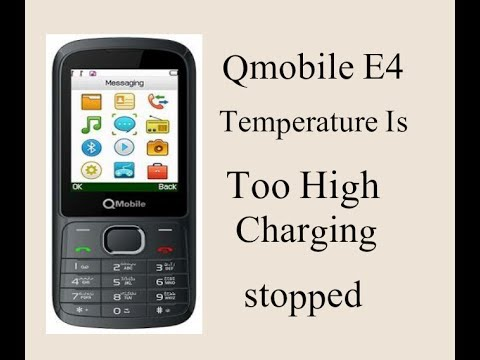 Qmobile E4 Temperature is too high Charging Stopped problem solution[100%]