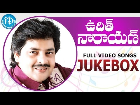Udit Narayan Superhit Telugu Video Songs - Jukebox