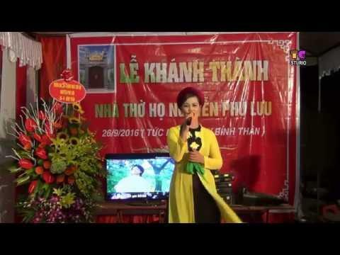 Về hội lim - Văn nghệ khánh thành nhà thờ họ Nguyễn Phù lưu Hòa đình.