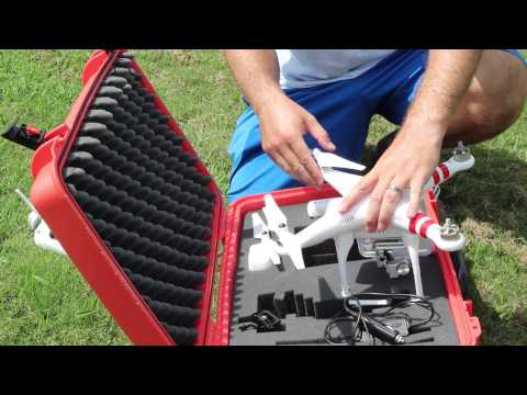DJI Phantom 2 Vision Plus Post-Flight Procedures