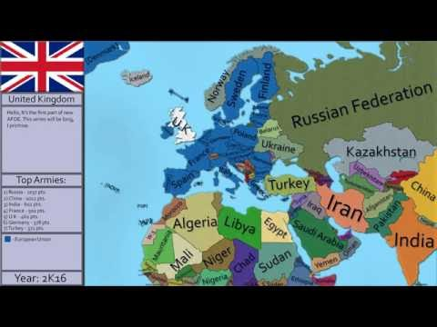 (OLD) Alternate Future of Europe Episode 1 - European Collapse.