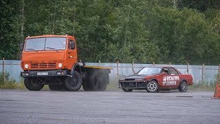 Pair drift with Kamaz 1000HP