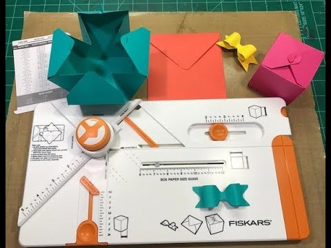 Fiskars Gift Making Tool Review and Demo