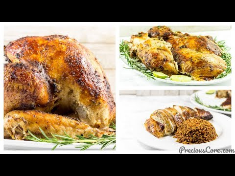 The Best Juicy Roast Turkey - Precious Kitchen - Ep 58