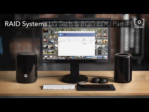 What Is a RAID 5 Hard Drive | G Technology & PRO EDU Part 4