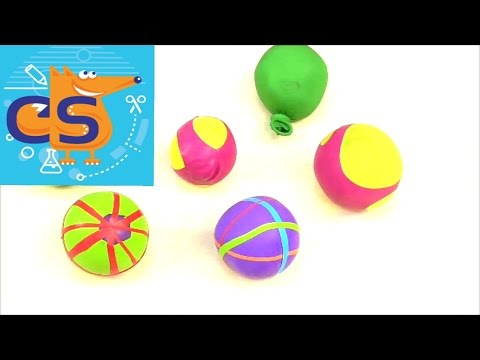 Вопрос: Как сделать мячик от стресса из воздушного шарика?