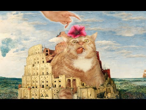 fat-cat-art:-famous-masterpieces-improved-by-a-ginger-cat-with-attitude.-funny-cats!