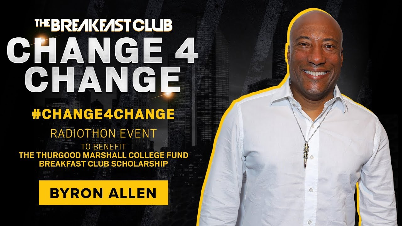 Byron Allen Contributes $100,000 To Support #Change4Change