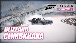 Forza Horizon 3 - Climbkhana Recreation! (#BLIZZKHANA)
