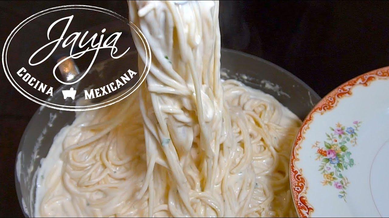 Image Result For Receta Espagueti Queso Crema
