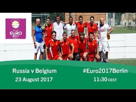 Russia vs Belgium | IBSA Blind Football European Championships