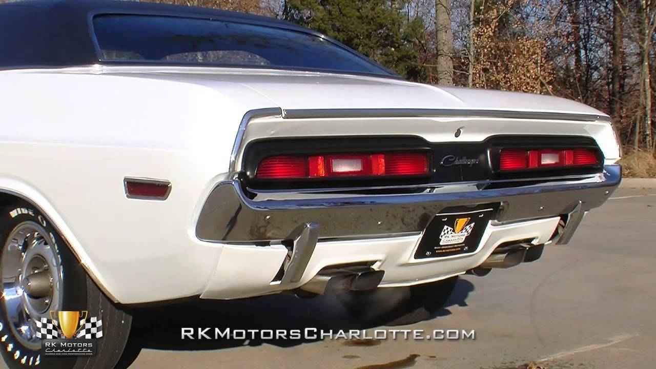 133381 1971 Dodge Challenger R T Youtube