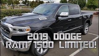 New 2019 Dodge RAM 1500 Limited!
