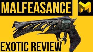 Destiny 2 Forsaken: Malfeasance Exotic Review