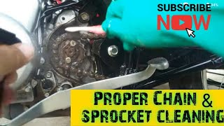 Chain and Sprocket Cleaning (Tagalog)
