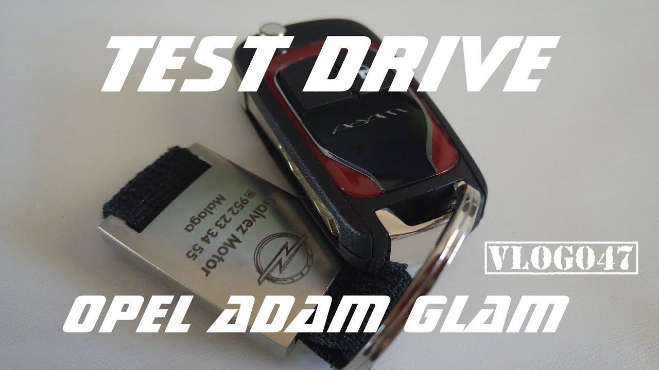 Opel Adam Glam 2018 - Owner Test Drive - Benalmádena - VLOG047 [4K]
