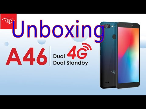 ITEL A46 Unboxing