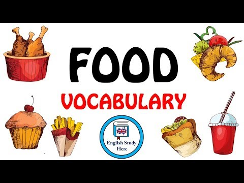 Food Vocabulary In English | Learn Food Vocabulary | Food Names For Kids