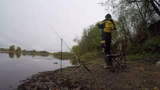 Рыбалка на реке Волхов | Октябрь 2017