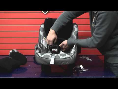 Peg Perego Primo Viaggio SIP 30/30: Cleaning Car Seat (Part 2: Reassemble Car Seat)