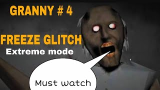 How to glitch GRANNY|| Horror Android Game||