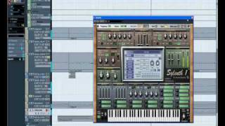 Electro house music with Cubase 5