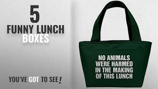Best Funny Lunch Boxes [2018]: A Vegetarian or Vegan Lunch Gift: Liberty Bags Recycled Cooler Lunch